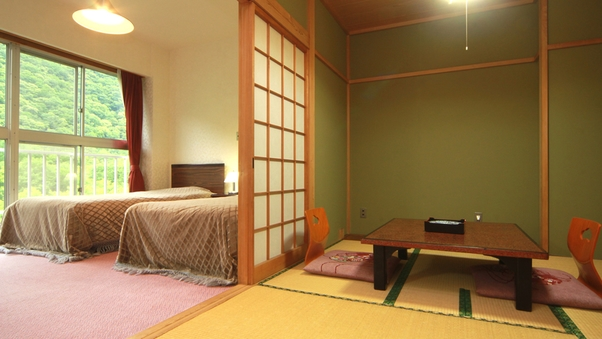和洋室◆3間続きの広々としたお部屋 最上階の特別室!禁煙