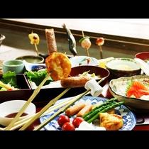 夏休みファミリープラン★野菜串食べ放題★