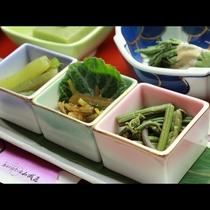 ◆◆山菜プラン◆◆蕨、蕗、山葵など時期により変わる山菜をお楽しみください。
