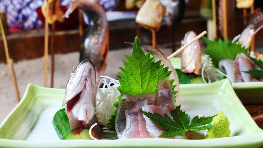 岩魚の最も贅沢で、美味しい食べ方です。新鮮な岩魚だからこその味をお楽しみ下さい