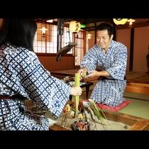 名物珍味サンショウウオを肴に、栃木のおいしい地酒をお楽しみください♪