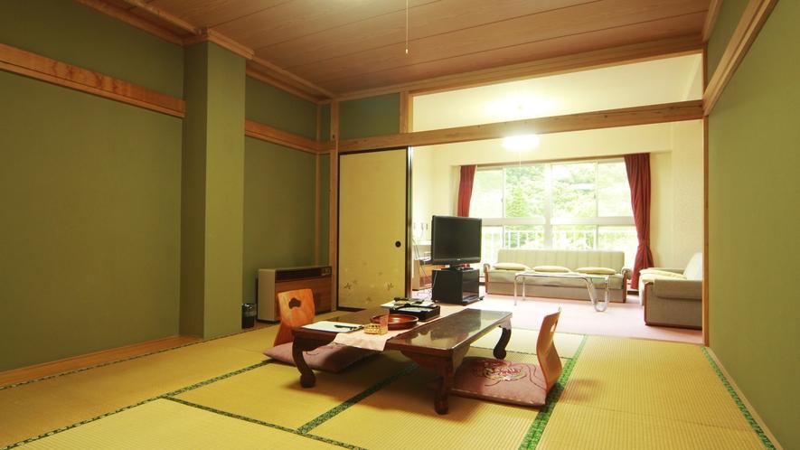 【和洋室】グループにもおすすめの3間続きの広々としたお部屋です。