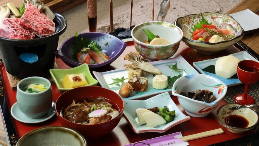 基本プラン一例◆『古の平家鷹狩料理』秋Ver.※内容は季節により異なります