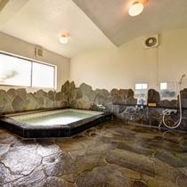 *男湯/温泉ではございませんが、温かい湯船に浸かりながら、癒しのひと時をお過ごし下さい。