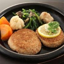 【お食事例】あわび茸ステーキ