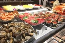 ワンハンドレッド セイルズ レストラン&バー ビュッフェ 一例