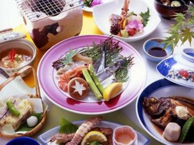 2008夏:ファーストB(炭火焼・煮魚)