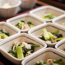 緑の野菜もしっかりとれます。