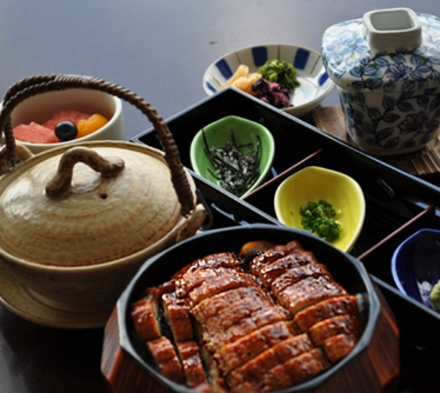 【2食付】ご夕食は三河一色産うなぎの「ひつまぶし」プラン♪