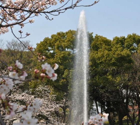 名古屋能楽堂前公園