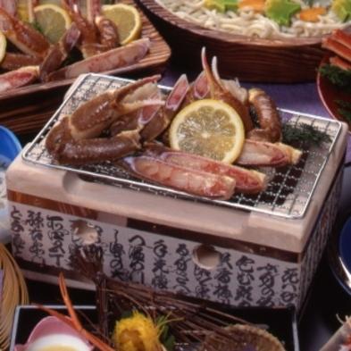 個室食事【境港直送の松葉ガニ&A5千屋牛フィレステーキ】冬の贅沢会席プラン!