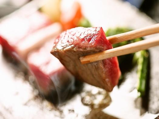 個室食事【岡山県産和牛に舌鼓♪】ボリューム満点!黒毛和牛すきやき&ステーキプラン【ファミリー】