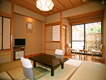 【禁煙】檜露天風呂付客室(8畳)