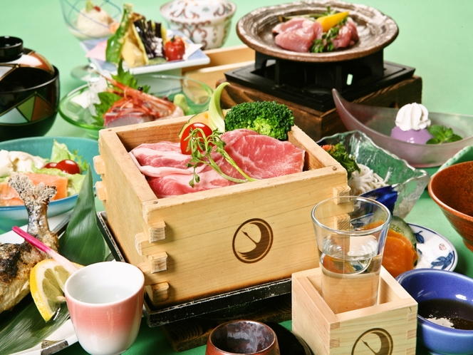 日本酒蒸篭蒸し 一例
