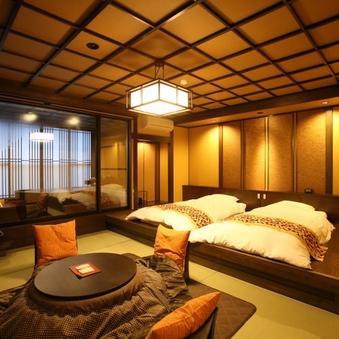 NEW・弐の棟・源泉かけ流し展望露天風呂付和室モダンルーム