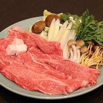 【選べるメイン鍋物チョイス】牛すきやき