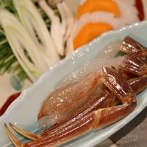 (蟹)焜炉 蟹しゃぶしゃぶ