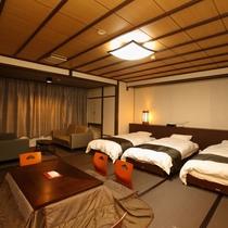 弐の棟・和室モダンルーム44平米(トリプルベット)