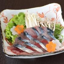 【選べるメイン鍋物チョイス】鯖(さば)のしゃぶしゃぶ