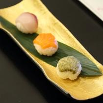 (春)凌ぎ 富山湾三宝寿司