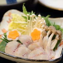 【選べるメイン鍋物チョイス】河豚ちり鍋