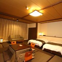 壱の棟・和室モダンルーム40平米(ツインベット)