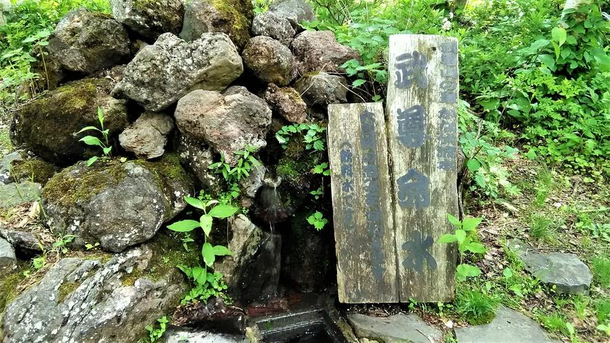 観光体験 武尊山の湧き水
