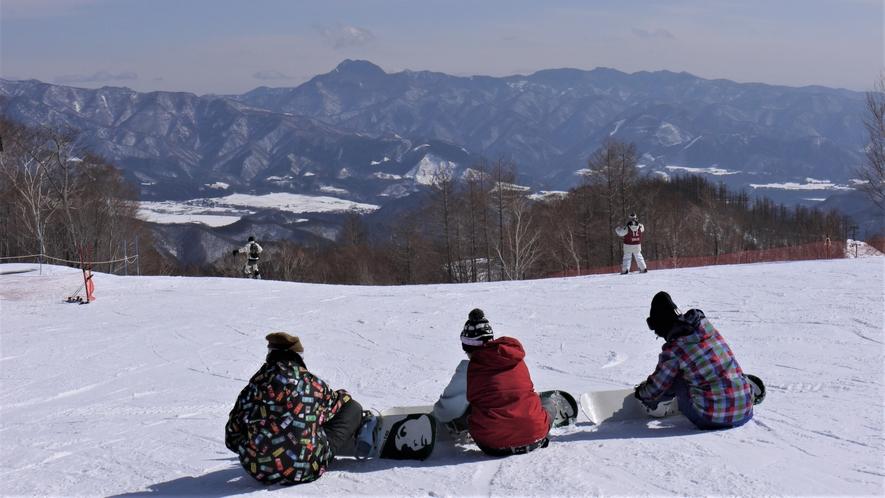 観光体験 オグナほたかスキー場