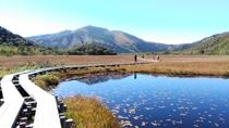 尾瀬国立公園 秋の尾瀬ヶ原