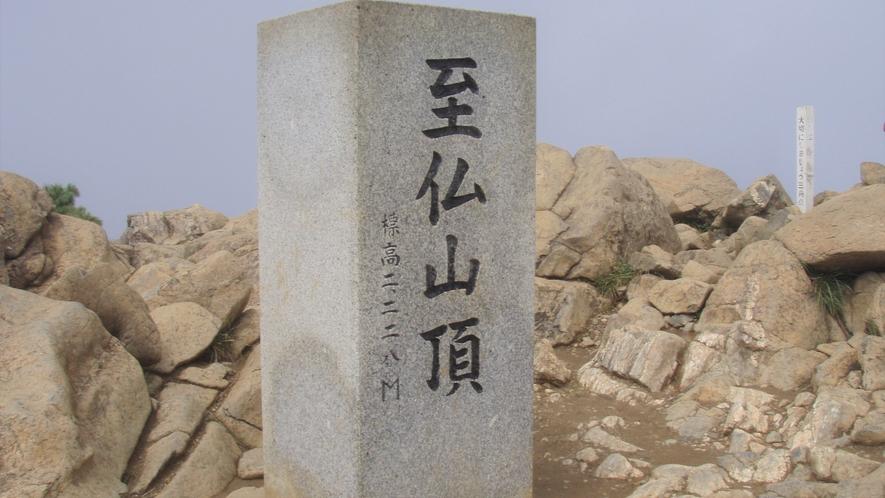 尾瀬国立公園 至仏山