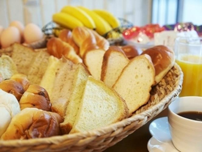 コンチネンタル朝食(無料)