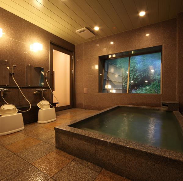 光明石温泉の貸切り風呂