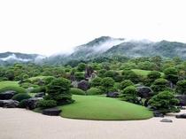 足立美術館霧の庭園