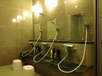 貸切風呂洗い場