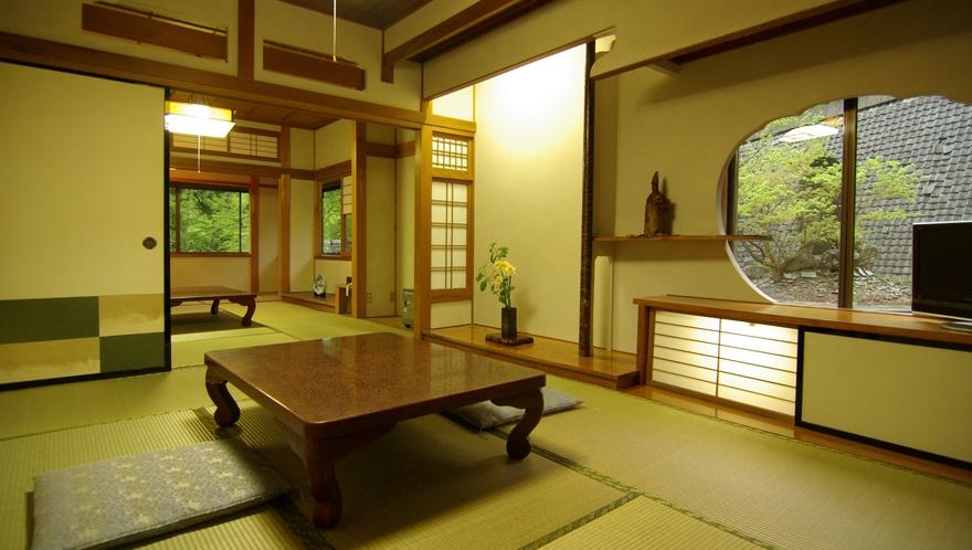 6畳+6畳の客室