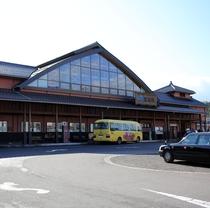 JR安来駅(安来観光交流プラザと併設)
