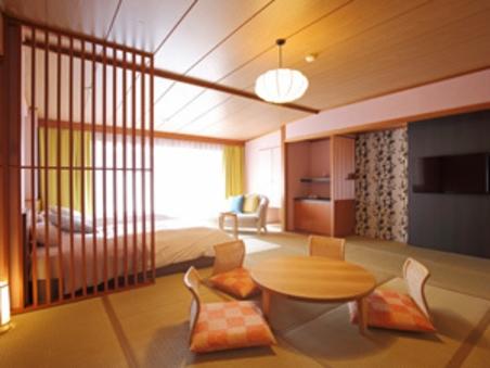 本館3階10帖癒しの景観と寛ぎ和洋室【禁煙】バス・トイレ付