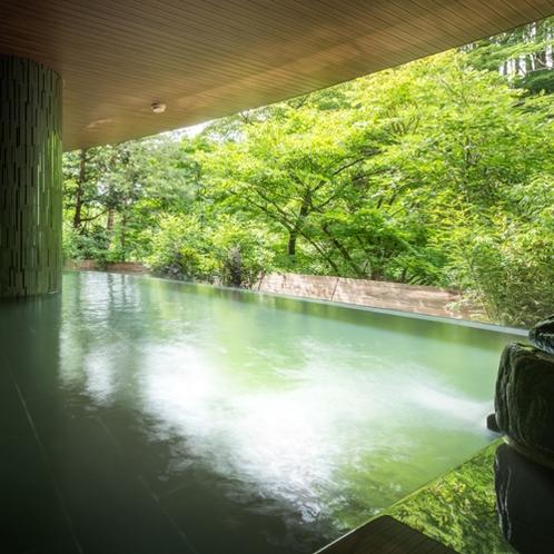 梵天の湯(露天風呂)