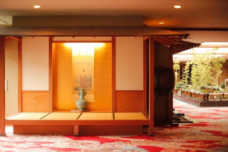 別館(紅葉城)2階エントランス