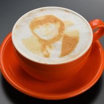 ラテアート(プリントコーヒー)