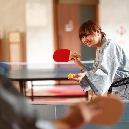 ○○卓球選手権を開催してみては…