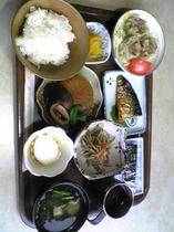 ある冬の朝の朝食  ( 7:30〜9:00  一階食堂でご用意いたしております。)