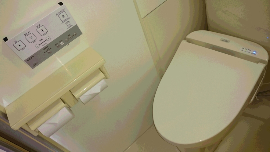 温水洗浄便座(ウォシュレット) ~ きれい除菌水で洗浄・除菌
