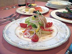 サラダ料理の一例