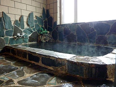 男女別岩風呂