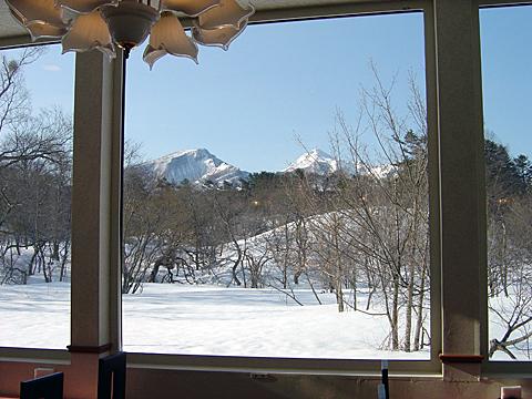 レストランからの眺め(冬)