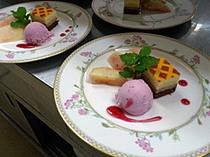 デザート料理の一例