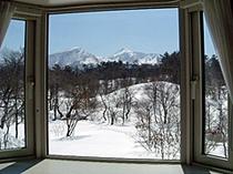 ツインからの眺め(冬)