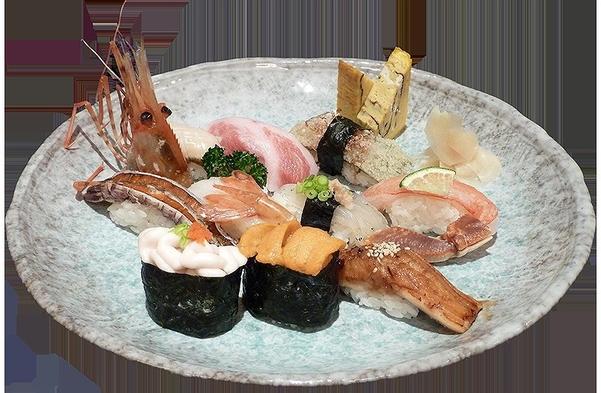 《2食付プラン(夕食はホテル外)》塩釜の味覚 寿司三昧!プラン(丸長寿司)