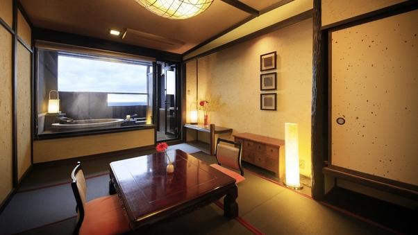 【温泉露天風呂付】和室(30平米・定員3名)※禁煙